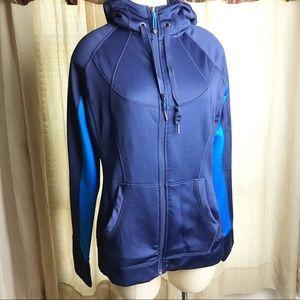Athlete strength zip up hoodie